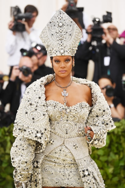 Rihanna  (Photo by Jamie McCarthy/Getty Images)