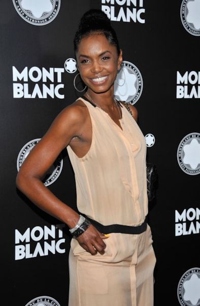 LOS ANGELES, CA - OCTOBER 02:  Actress Kim Porter arrives at Montblanc's 2012 Montblanc de la Culture Arts Patronage Award Ceremony honoring Quincy Jones at Chateau Marmont on October 2, 2012 in Los Angeles, California.  (Photo by Angela Weiss/Getty Images)
