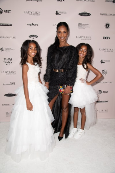 BEVERLY HILLS, CA - JUNE 02:  (L-R) D'Lila Star Combs, Kim Porter and Jessie James Combs attend the Ladylike Foundation's 2018 Annual Women Of Excellence Scholarship Luncheon at The Beverly Hilton Hotel on June 2, 2018 in Beverly Hills, California.  (Photo by Earl Gibson III/Getty Images)