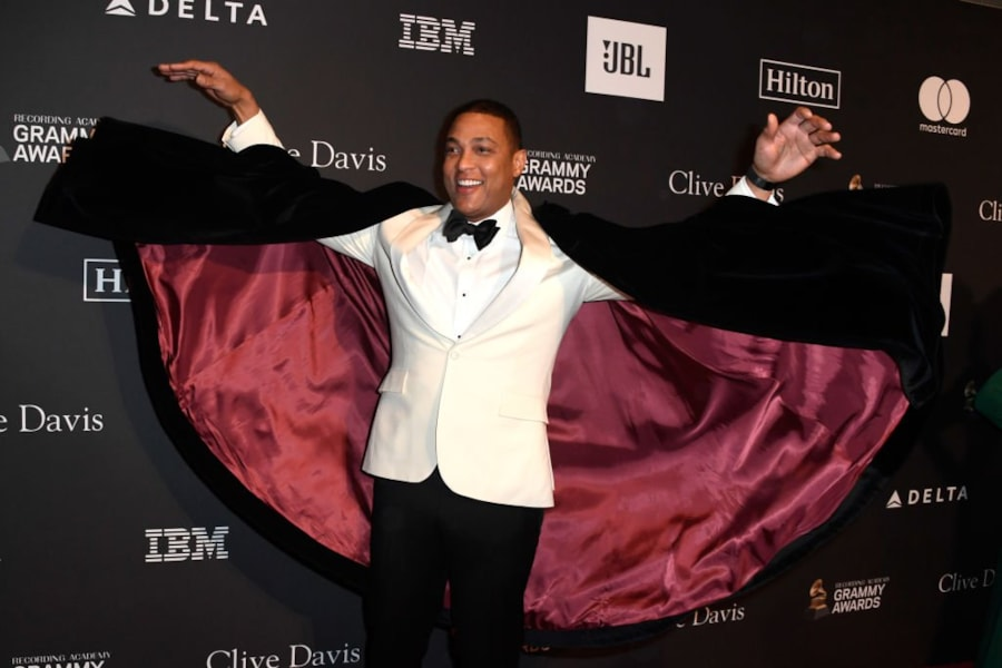 BEVERLY HILLS, CA - FEBRUARY 09:  Don Lemon attends the Pre-GRAMMY Gala and GRAMMY Salute to Industry Icons Honoring Clarence Avant at The Beverly Hilton Hotel on February 9, 2019 in Beverly Hills, California.  (Photo by Frazer Harrison/Getty Images for NARAS)