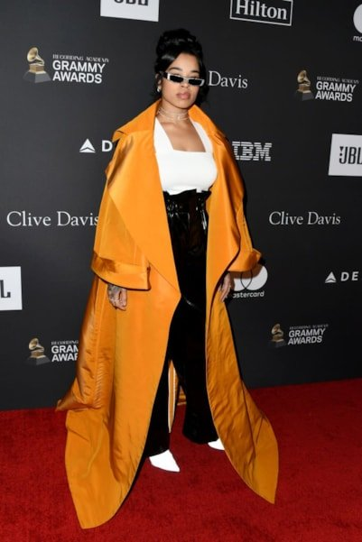BEVERLY HILLS, CA - FEBRUARY 09:  Ella Mai attends The Recording Academy And Clive Davis' 2019 Pre-GRAMMY Gala at The Beverly Hilton Hotel on February 9, 2019 in Beverly Hills, California.  (Photo by Jon Kopaloff/Getty Images)