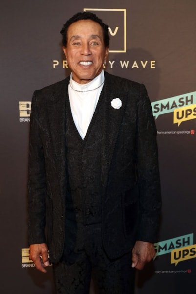 WEST HOLLYWOOD, CA - FEBRUARY 09:  Smokey Robinson attends Primary Wave 13th Annual Pre-GRAMMY Bash at The London West Hollywood on February 9, 2019 in West Hollywood, California.  (Photo by Cassidy Sparrow/Getty Images)