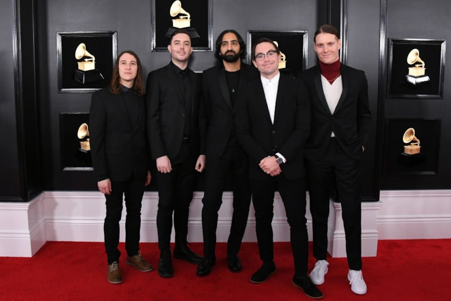 LOS ANGELES, CALIFORNIA - FEBRUARY 10: Music group Deafheaven attends the 61st Annual GRAMMY Awards at Staples Center on February 10, 2019 in Los Angeles, California. (Photo by Jon Kopaloff/Getty Images)