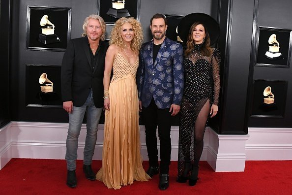 LOS ANGELES, CALIFORNIA - FEBRUARY 10: (L-R) Philip Sweet, Kimberly Schlapman, Jimi Westbrook, and Karen Fairchild of Little Big Town attend the 61st Annual GRAMMY Awards at Staples Center on February 10, 2019 in Los Angeles, California. (Photo by Jon Kopaloff/Getty Images)