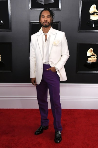 LOS ANGELES, CALIFORNIA - FEBRUARY 10: Miguel attends the 61st Annual GRAMMY Awards at Staples Center on February 10, 2019 in Los Angeles, California. (Photo by Jon Kopaloff/Getty Images)