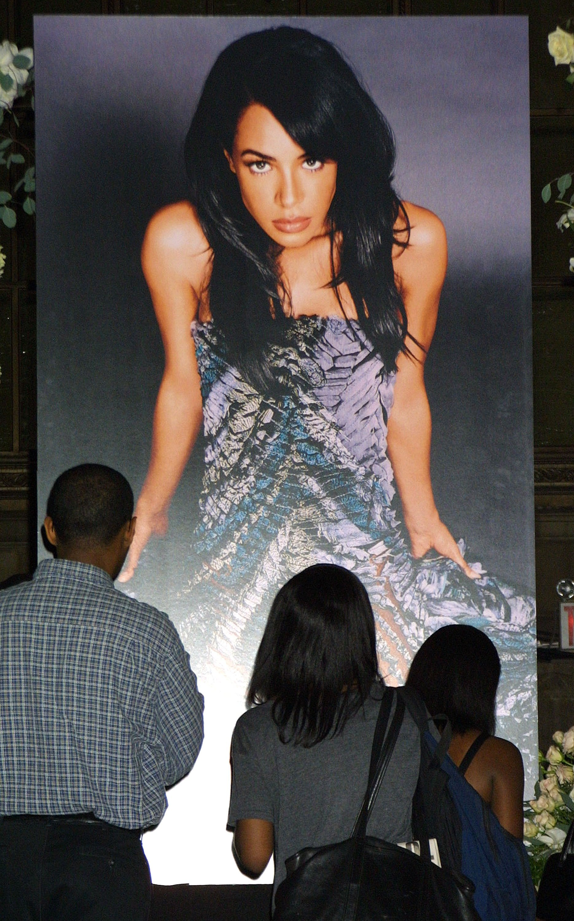 Funeral For Late R B Singer Aaliyah